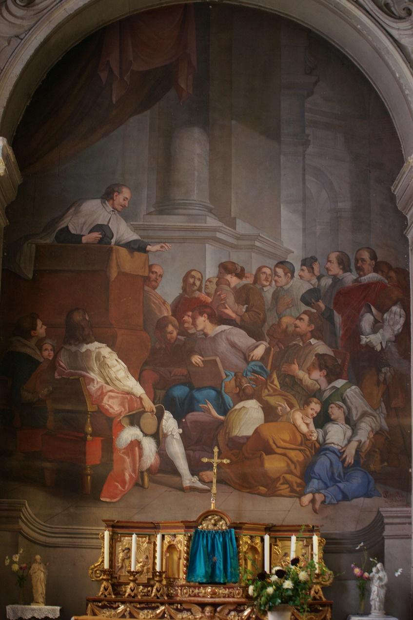 Eglise Notre-Dame de Richelieu Vincent de Paul