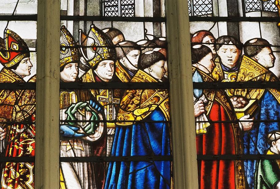Sainte Chapelle de Champigny La Translation des reliques de la Passion