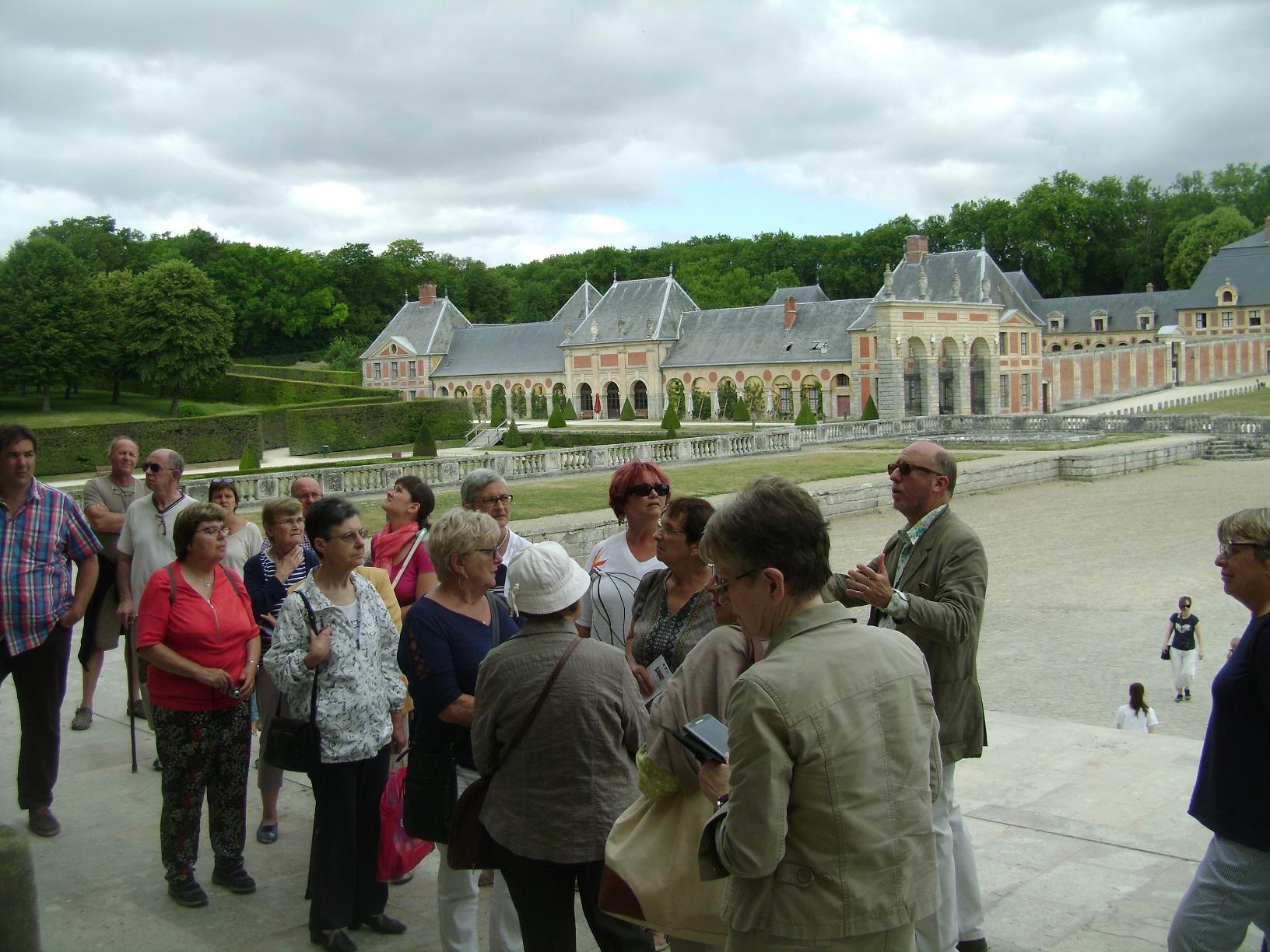 CPR visite de Vaux-le-Vicomte