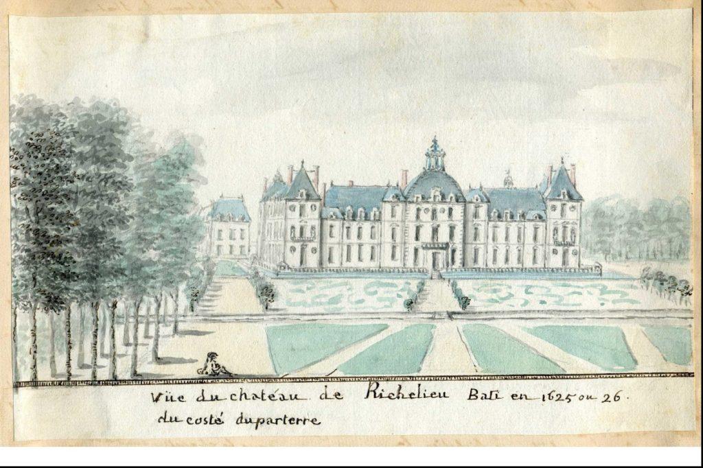 L'attribut alt de cette image est vide, son nom de fichier est Château-Richelieu-1785-1024x682.jpg.